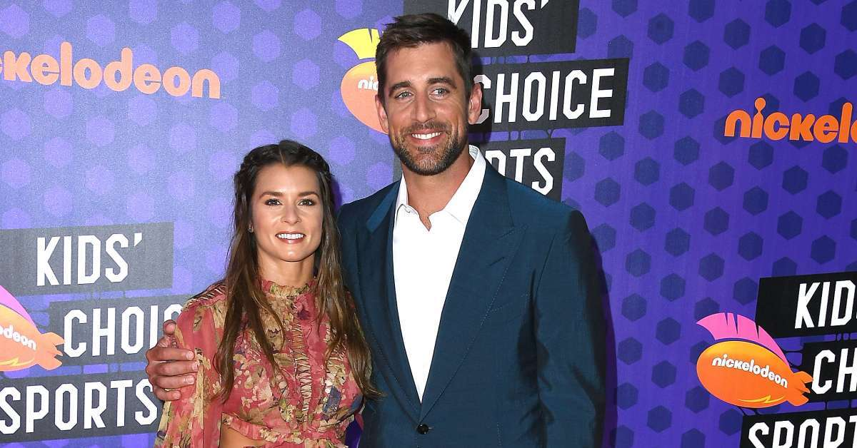 Danica Patrick Aaron Rodgers dating pretty Amazing