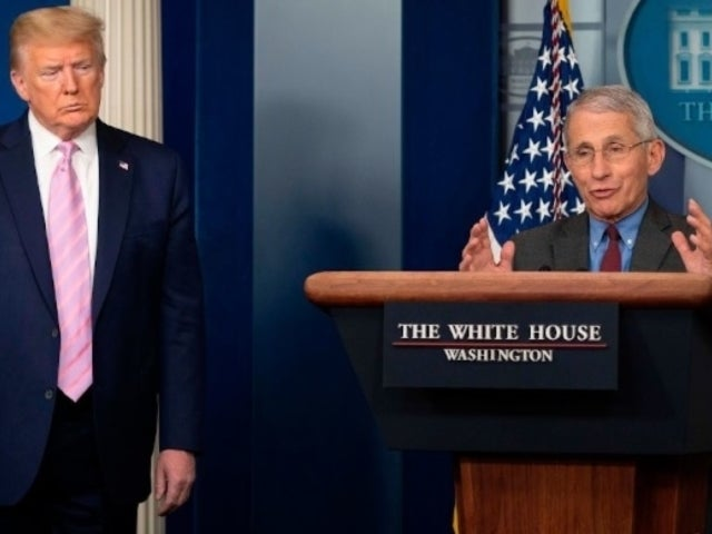 Donald Trump Suggests He Might Fire Anthony Fauci After the Election