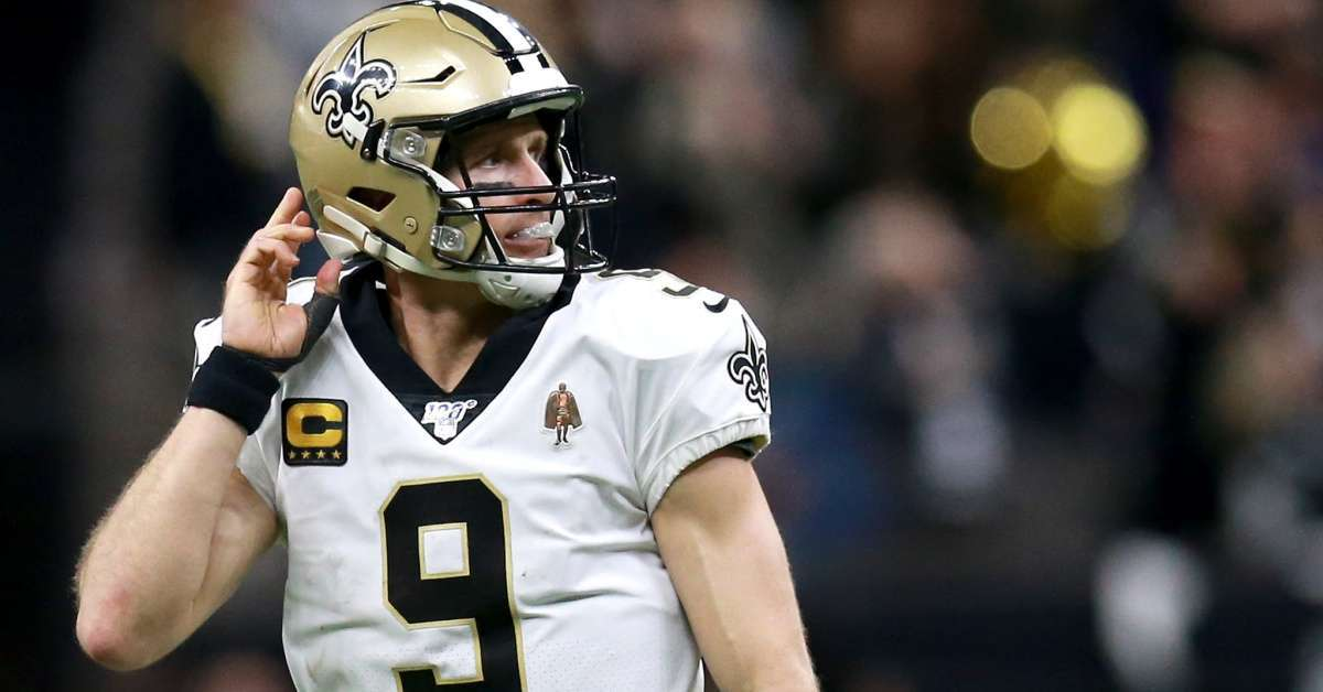 Drew Brees ESPN targeting Monday Night Football