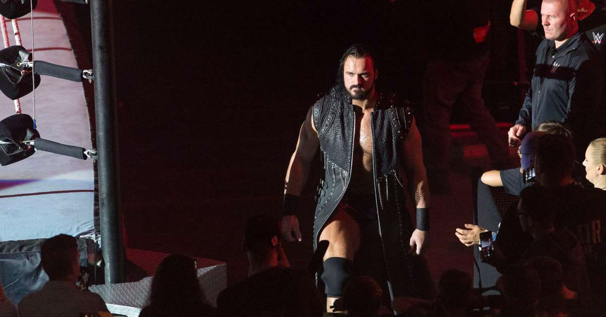 Drew McIntyre WWE champion WrestleMania 36 coronavirus safety plan