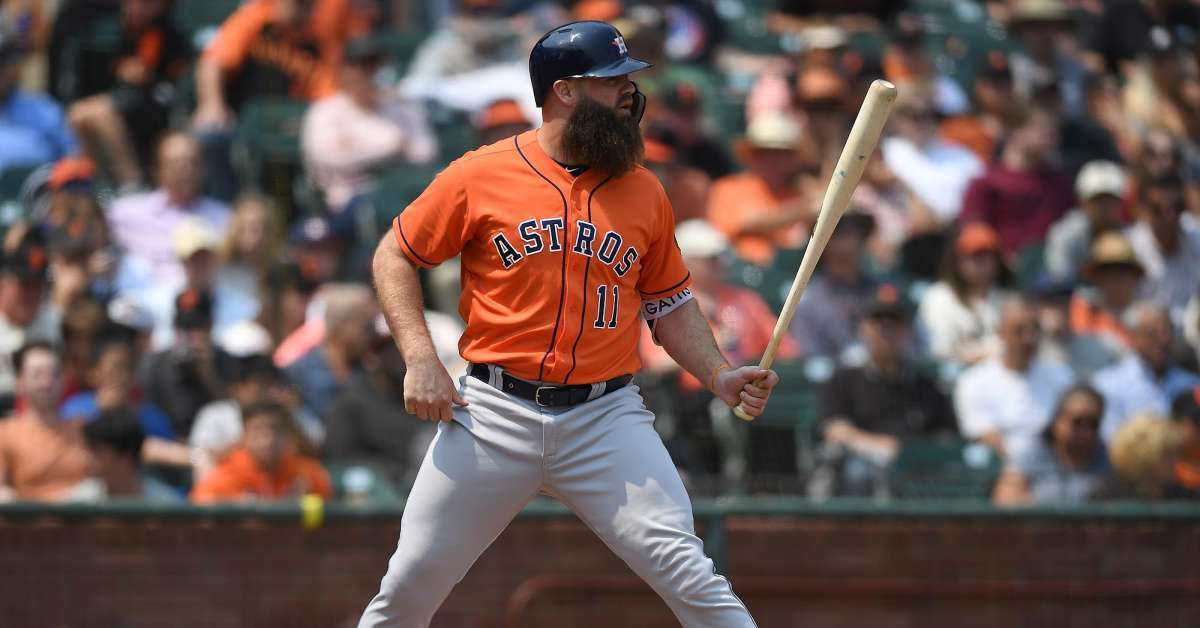 Evan Gattis Astros cheating scandal cheated baseball