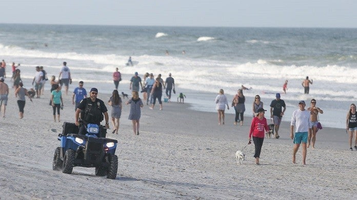 jacksonville-beach-coronavirus-getty
