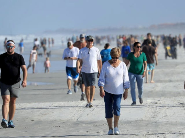 Jacksonville, Florida Beaches Filled With Visitors Stir Social Media After Governor Issues Reopening