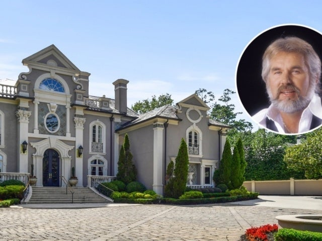 Tour Kenny Rogers' $4.4M Sprawling Atlanta Mansion