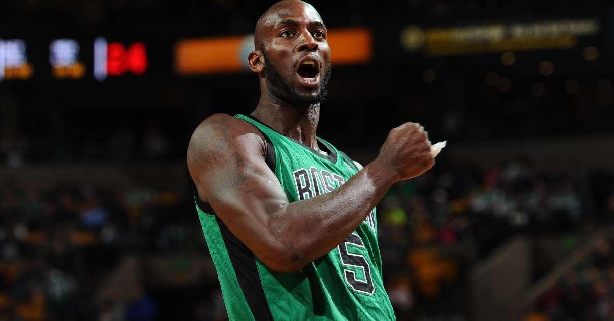 Kevin Garnett Uncut Gems Celtics jersey auction