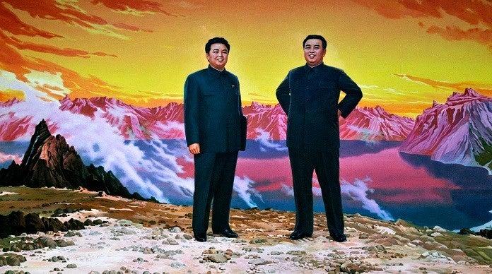kim-jong-il-kim-il-sung-getty