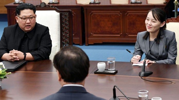 kim-yo-jong-table