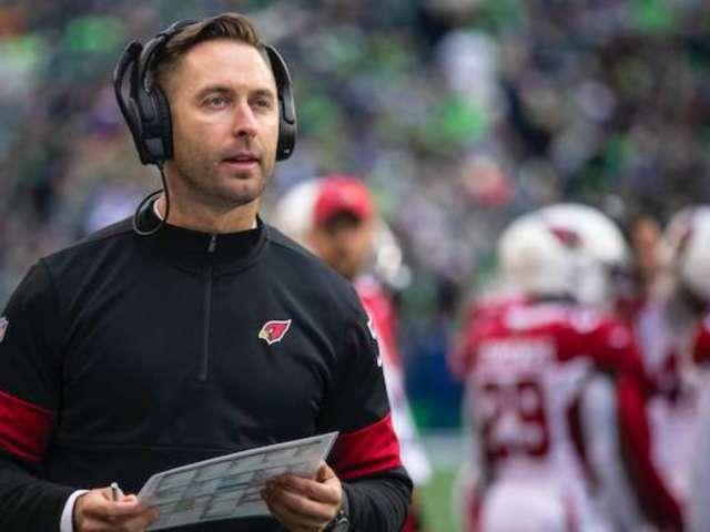 NFL Draft: Kliff Kingsbury, Arizona Cardinals Coach, Has Viewers Sounding off on His Living Room Setup
