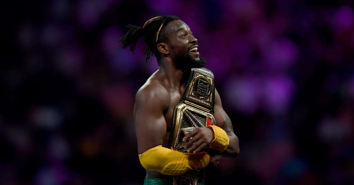 Kofi Kingston WWE face mask coronavirus vitamin c treatment prevent