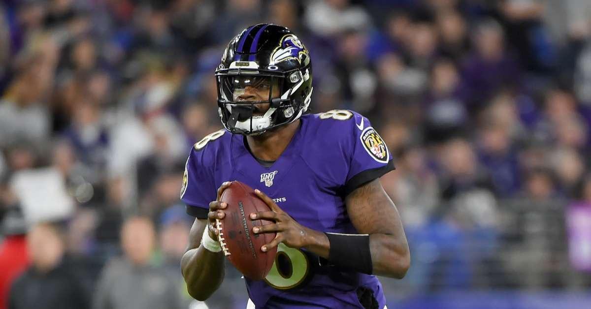 Lamar Jackson Madden 21 cover Ravens