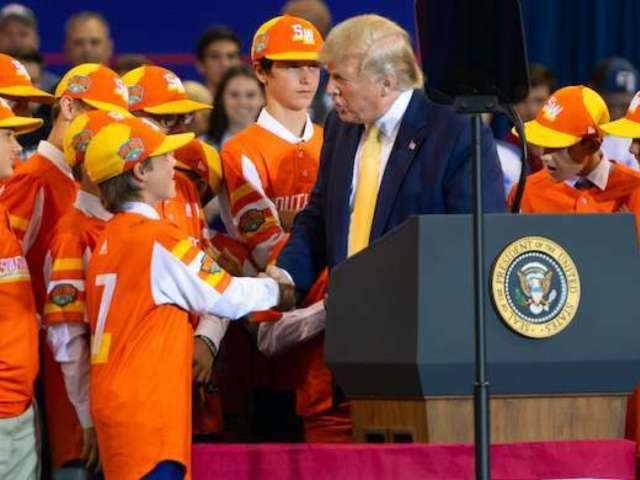 Donald Trump Shares Message for Little League Baseball Players Amid Coronavirus Pandemic