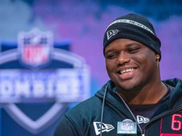 NFL Draft: Atlanta Falcons' DT Marlon Davidson Branded 'Most Savage Player' After Wild Interview Answer