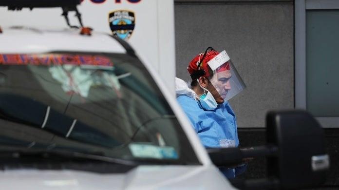 new york city worker coronavirus getty images