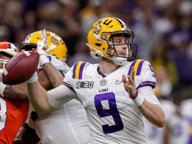 NFL Draft 2020: Joe Burrow Selected No. 1 Overall by Cincinnati Bengals