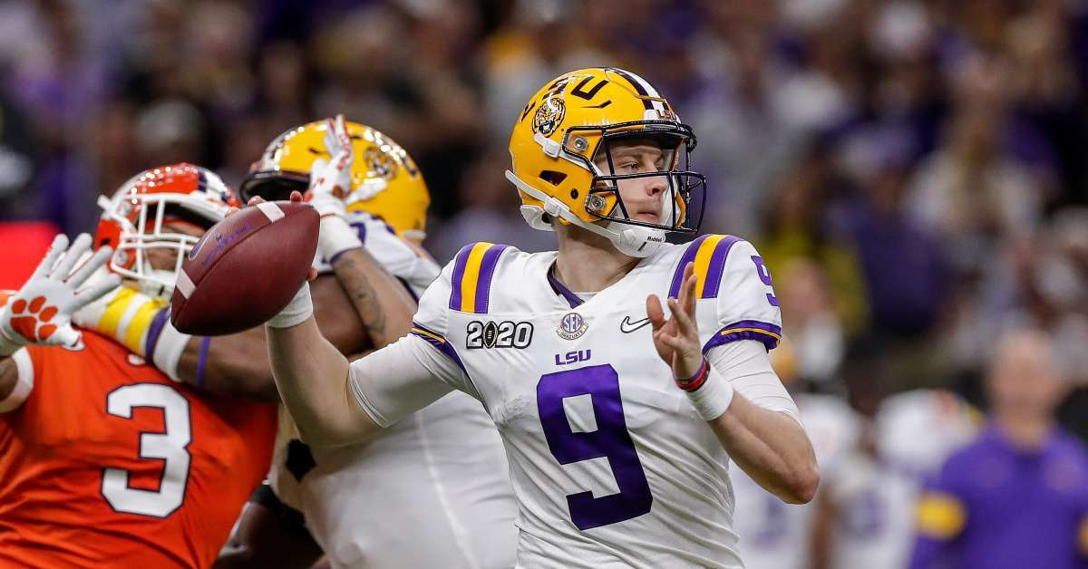 NFL Draft 2020_ Joe Burrow no 1 overall Cincinnati Bengals