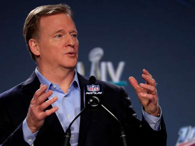 NFL Draft 2020: Watch Roger Goodell Do 'Toosie Slide' Dance With Jerry Jeudy