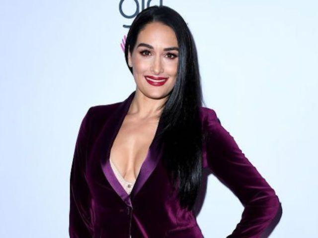Nikki Bella Reveals 24-Week Baby Bump Photo