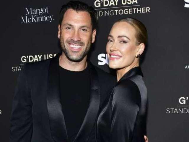 'Dancing With the Stars' Peta Murgatroyd, Maksim Chmerkovskiy Admit Couple Time 'Is a Struggle' in Quarantine