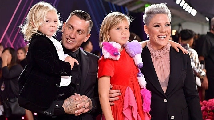 pink family getty images