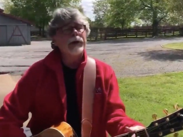 Alabama's Randy Owen Performs National Anthem Before NASCAR Virtual Event