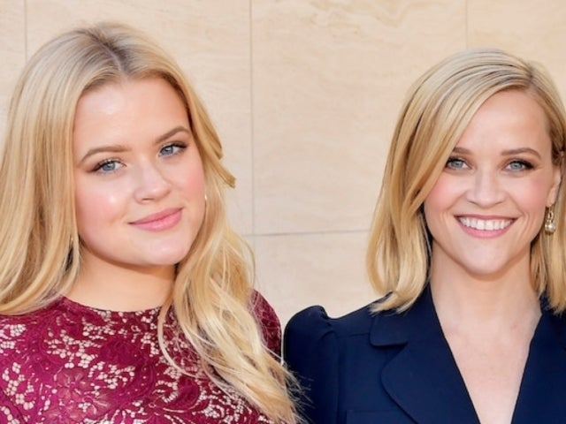 Reese Witherspoon and Daughter Ava Phillippe Twin in Matching Holiday Sweaters
