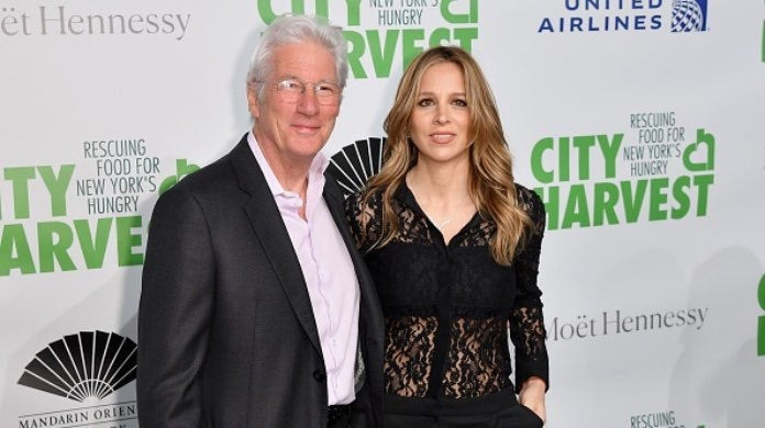 Richard Gere and wife-2