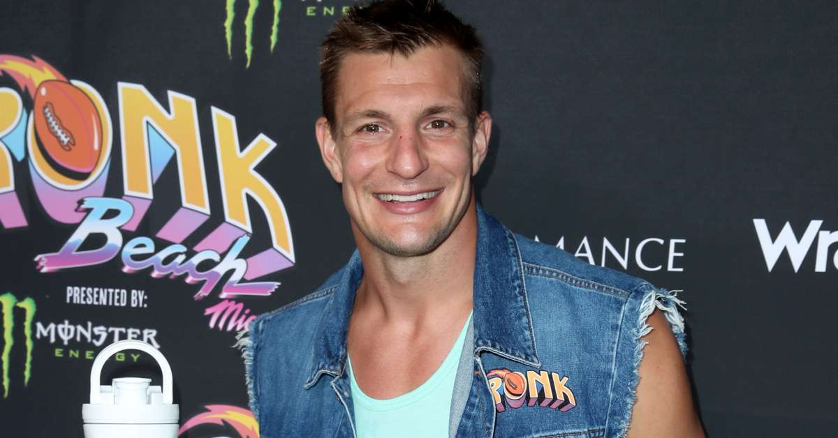 Rob Gronkowski Buccaneers wwe 247 title defend at all times