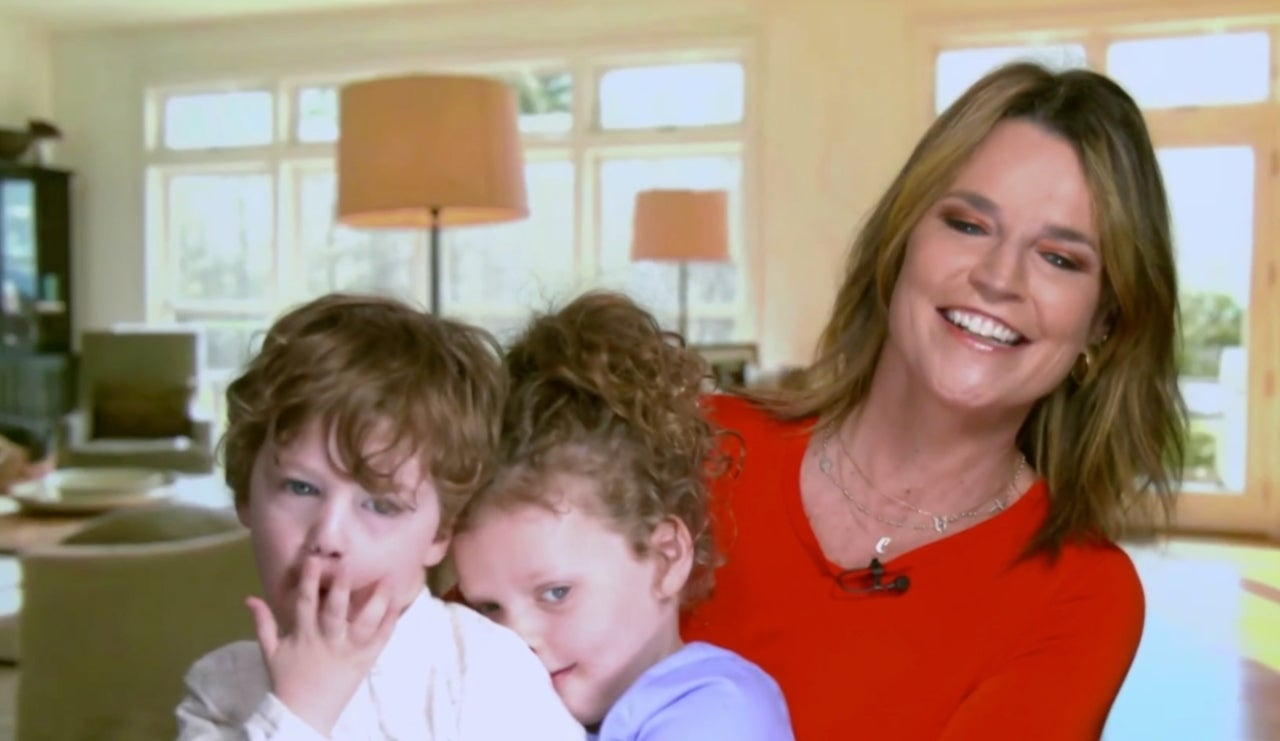 Savannah Guthrie S Kids Charley And Vale Make Surprise Appearance During Today Broadcast