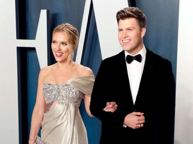 Scarlett Johansson Reveals Her Love for Yankees Is a 'Sore Subject' for Fiance Colin Jost