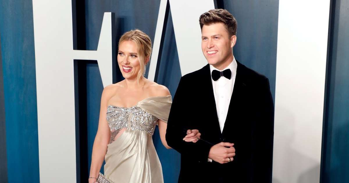 Scarlett Johansson yankees fan sore subject Colin Jost