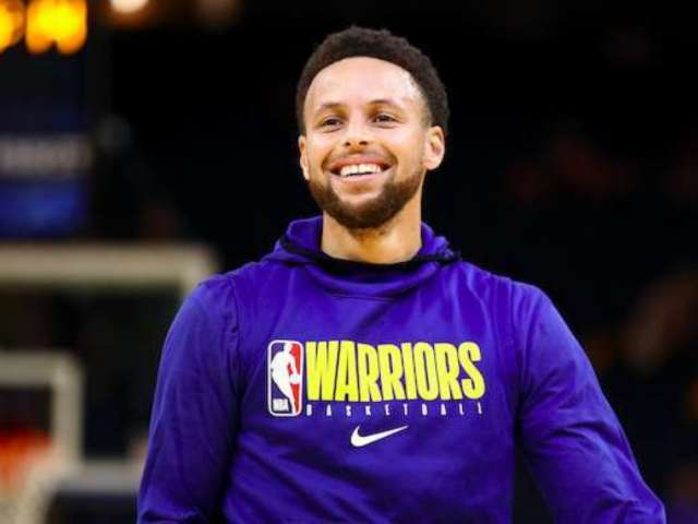 NBA Star Steph Curry Passes Time in Quarantine Working on Typing Skills