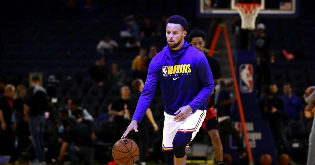 Steph Curry first NBA player test coronavirus
