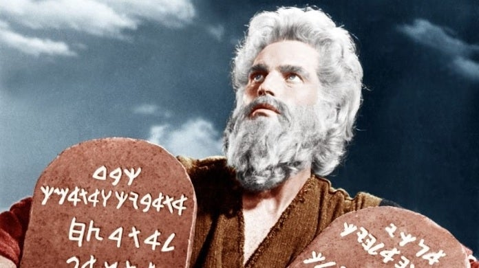 ten commandments getty images