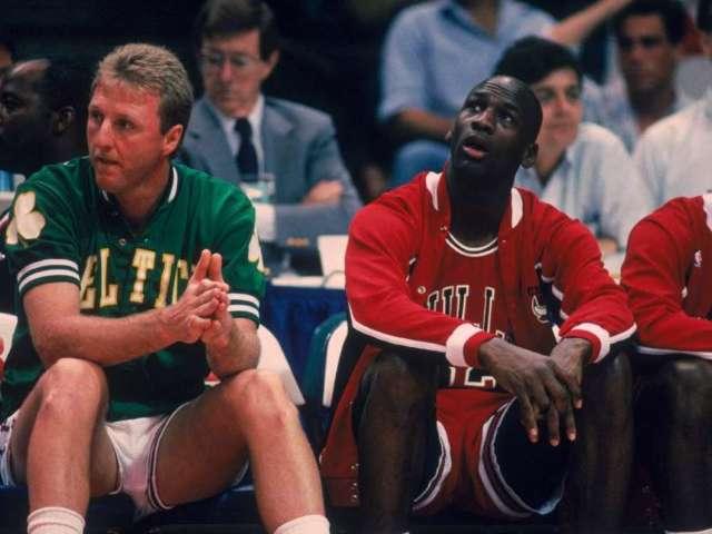 'The Last Dance': Larry Bird Compares Michael Jordan to God During Premiere Episodes