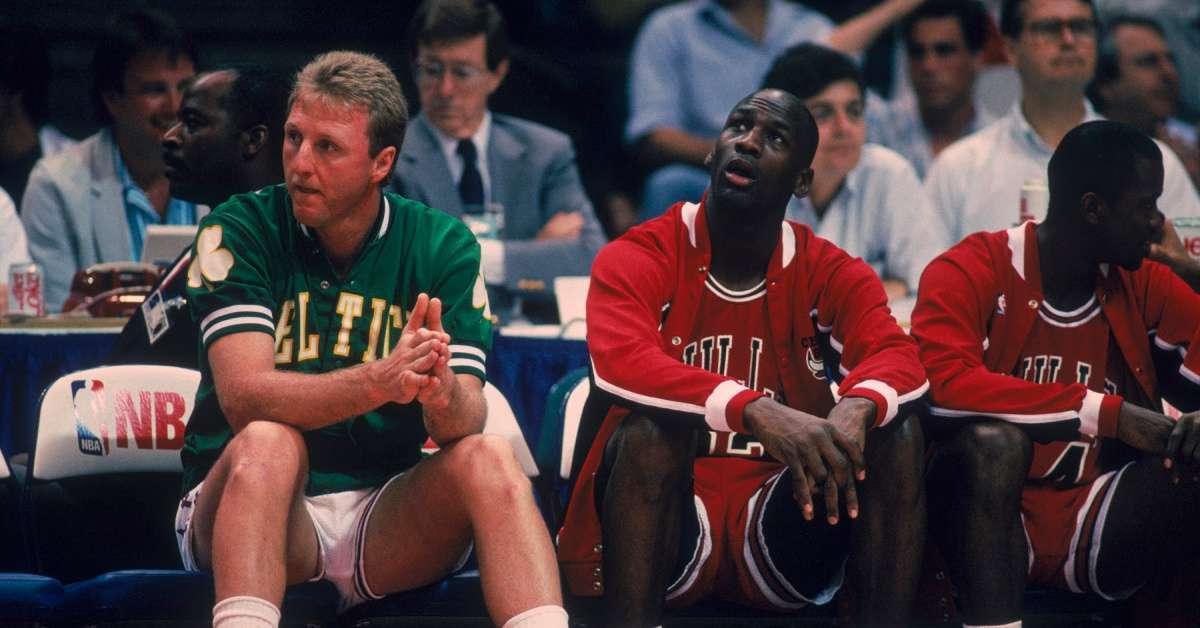 The Last Dance Larry Bird Michael Jordan God