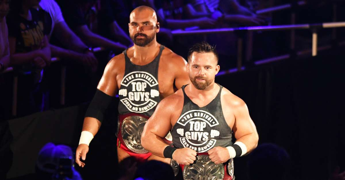 The Revival release WWE