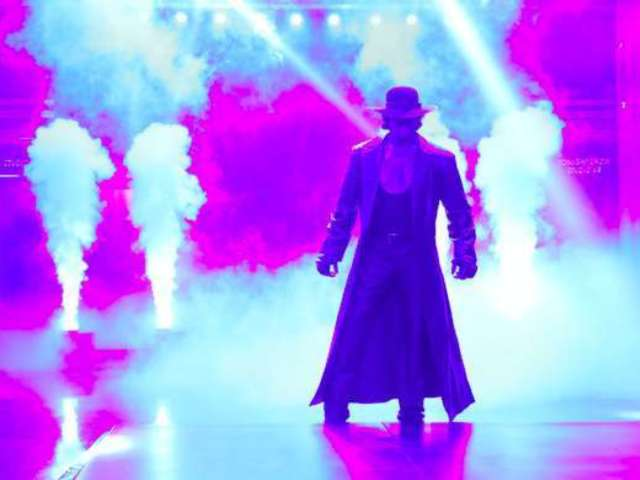 Undertaker's WrestleMania Boneyard Match With AJ Styles: How to Watch If You Missed It Live