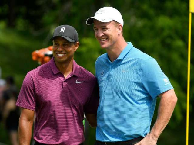 Tigers Woods, Peyton Manning to Face Phil Mickelson, Tom Brady in Charity Golf Match