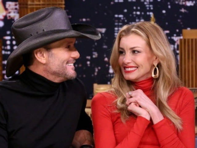 Tim McGraw Gleefully Embarrasses Daughter in Video Gushing Over Faith Hill