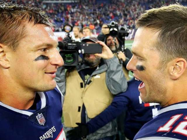 Tom Brady Reacts to Rob Gronkowski Joining Tampa Bay Buccaneers
