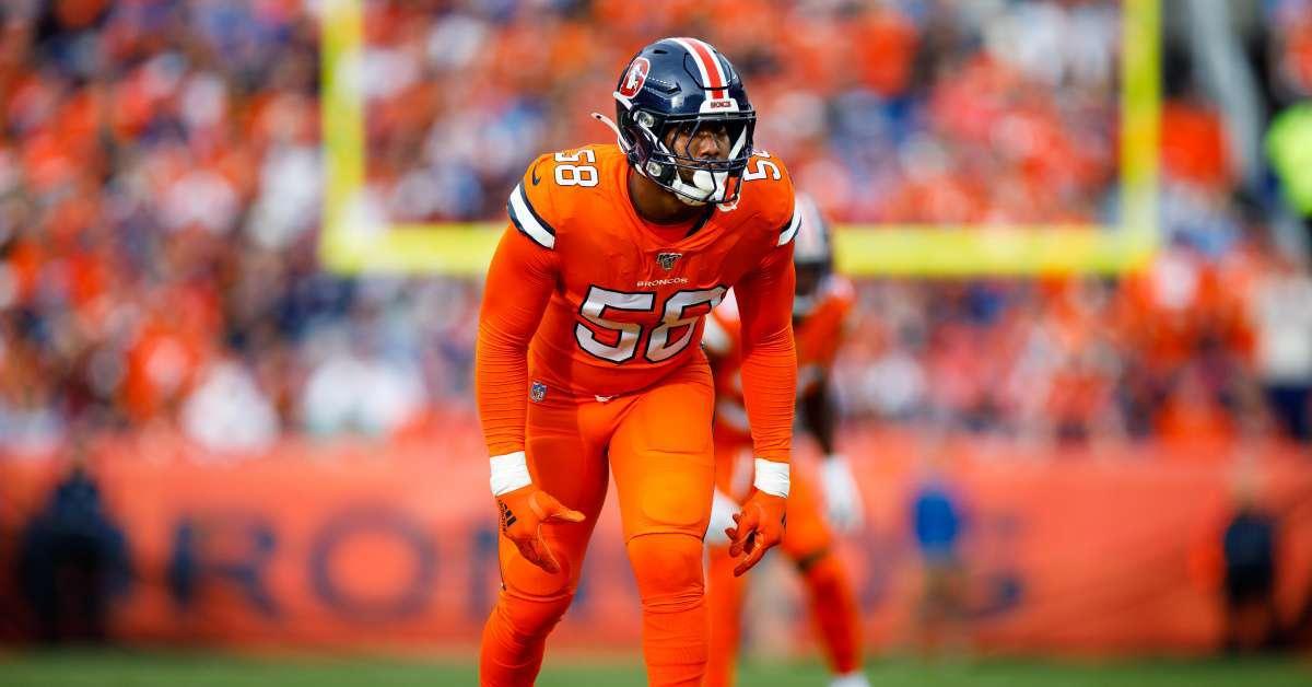 Von Miller Broncos coronavirus test positive second NFL player