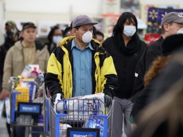 Walmart and Kroger Currently Using One-Way Aisles to Prevent Spread of Coronavirus