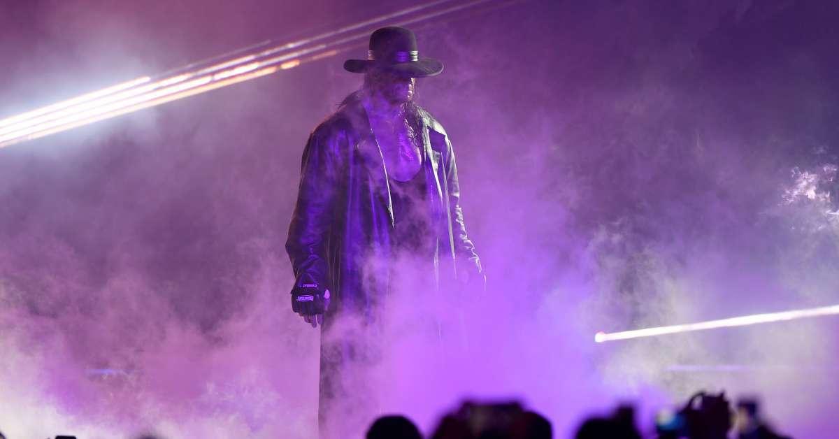 WWE selling dirt Undertaker AJ Styles WrestleMania match
