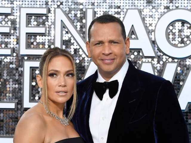 Jennifer Lopez and Alex Rodriguez Join Black Lives Matter Protest