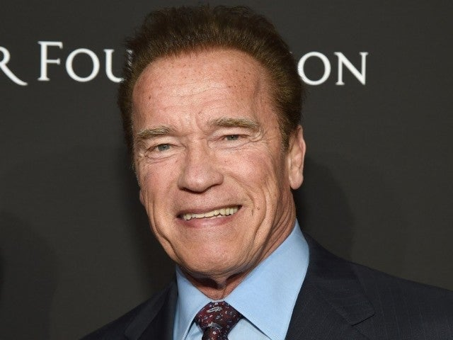 Arnold Schwarzenegger Channels His Inner 'Terminator' While Getting the COVID-19 Vaccine
