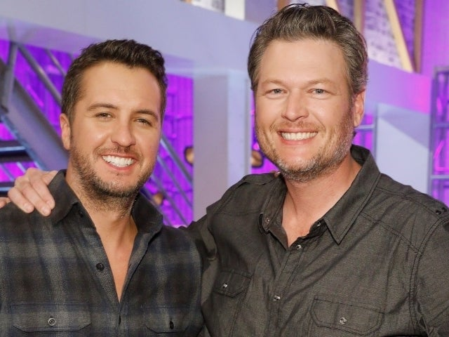 NASCAR: Blake Shelton Shades Luke Bryan While Watching Crowdless Real Heroes 400 Race