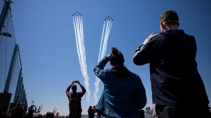 blue angels new york getty images