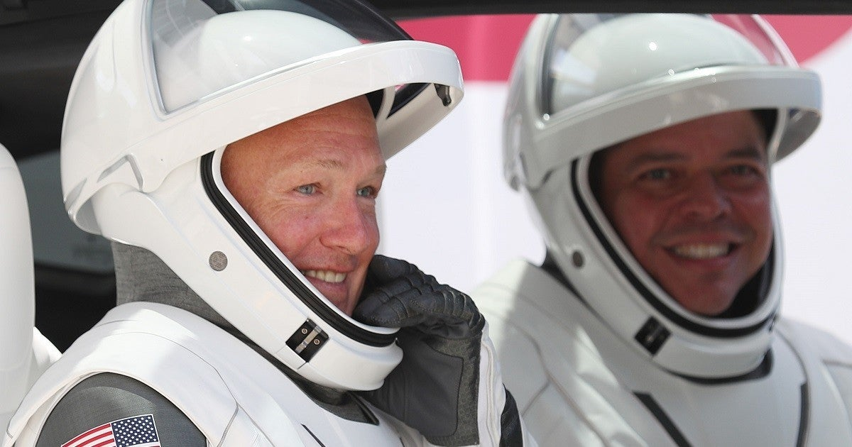 bob-behnken-hurley-astronauts-crew-dragon-nasa-spacex-getty