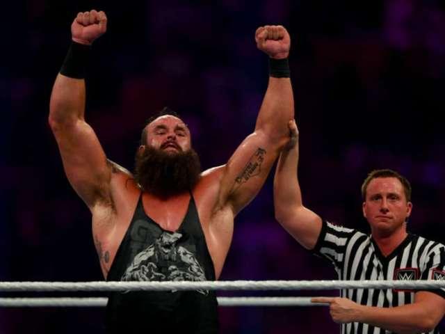 WWE's Braun Strowman Reveals 'Sexual Tyrannosaurus Rex' Thirst Trap Selfie