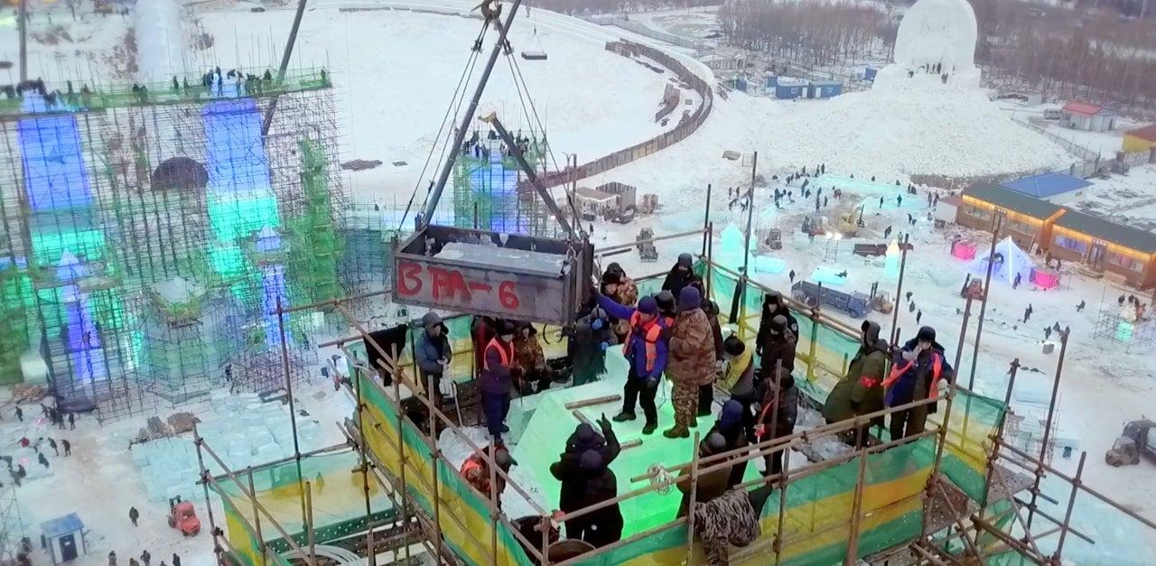Building Giants City of Ice